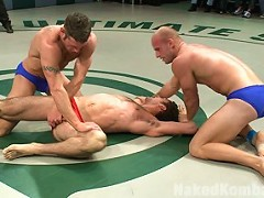 Spencer Reed & DJ vs Patrick Rouge & Dean Tuckerbr The Live Audience Match
