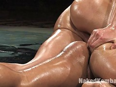 Studly Spencer Reed brutally grinds and pounds John Stone.